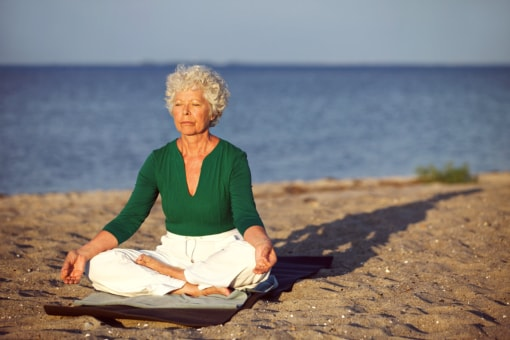 Senior Meditation: Physical and Mental Health Benefits